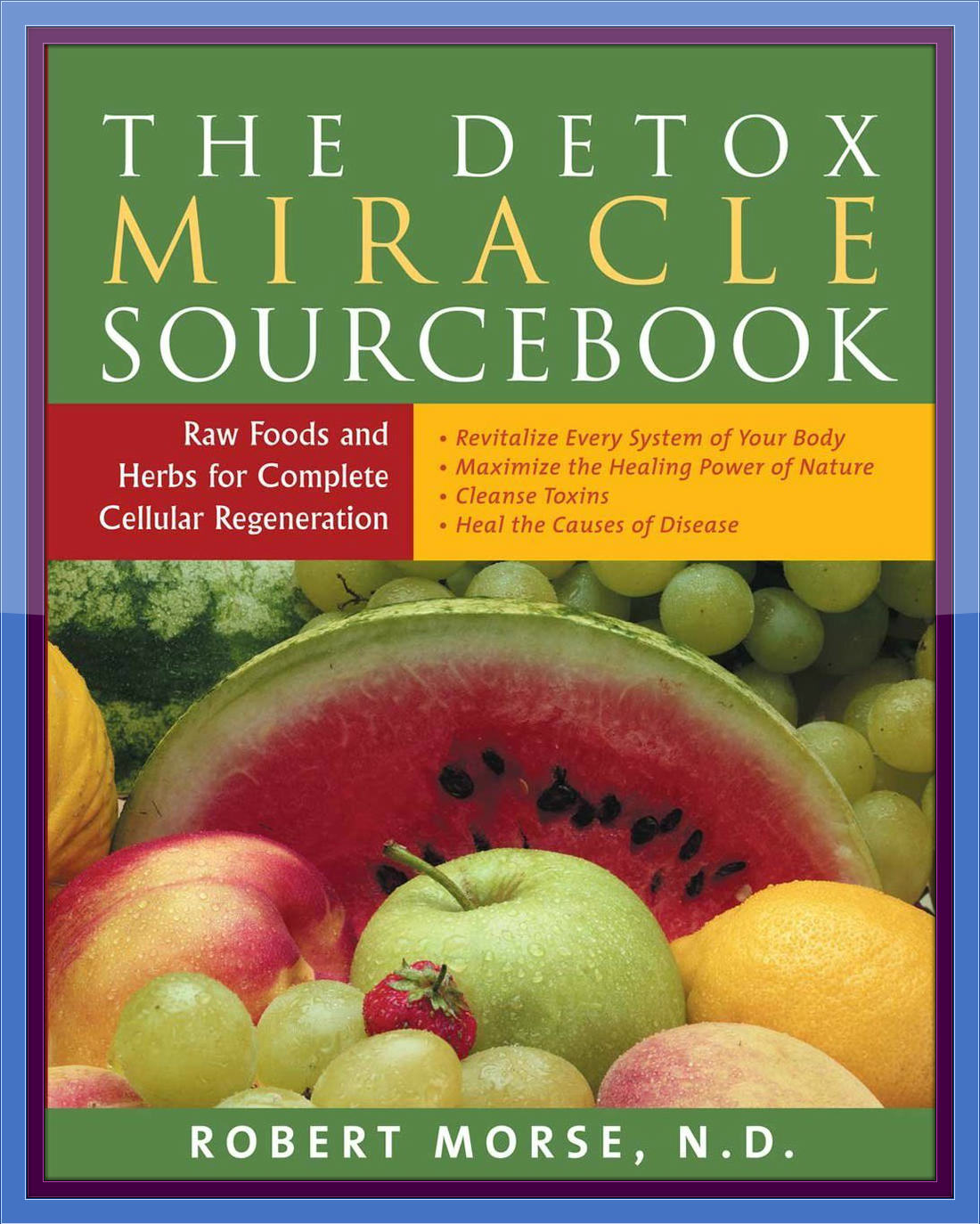 The Detox Miracle Sourcebook - Framed
