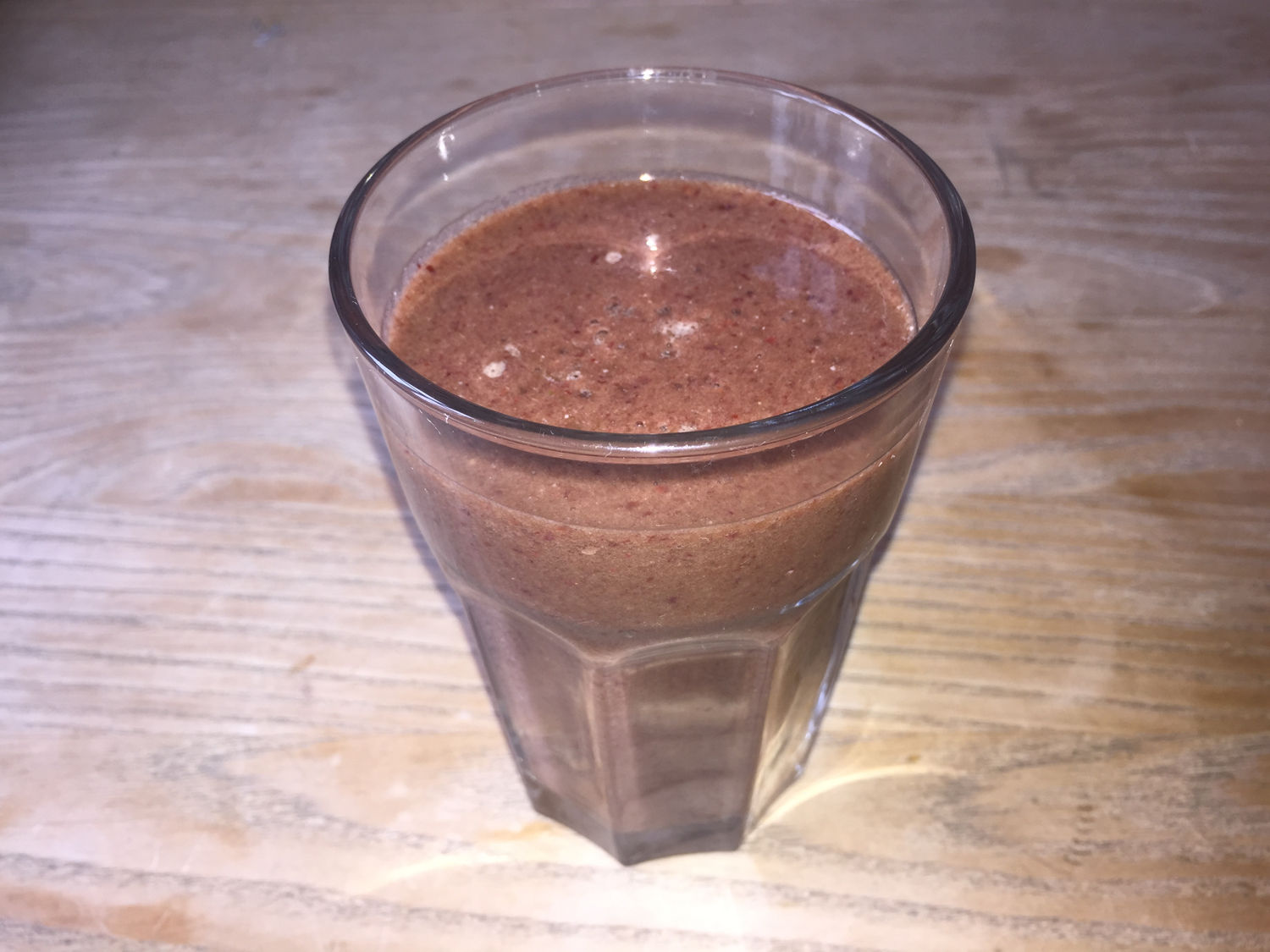 Banana, Baby Spinach & Blackberry Smoothie