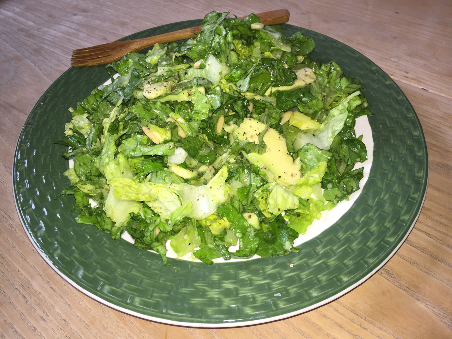 Romaine, Avocado & Pine Nut Salad